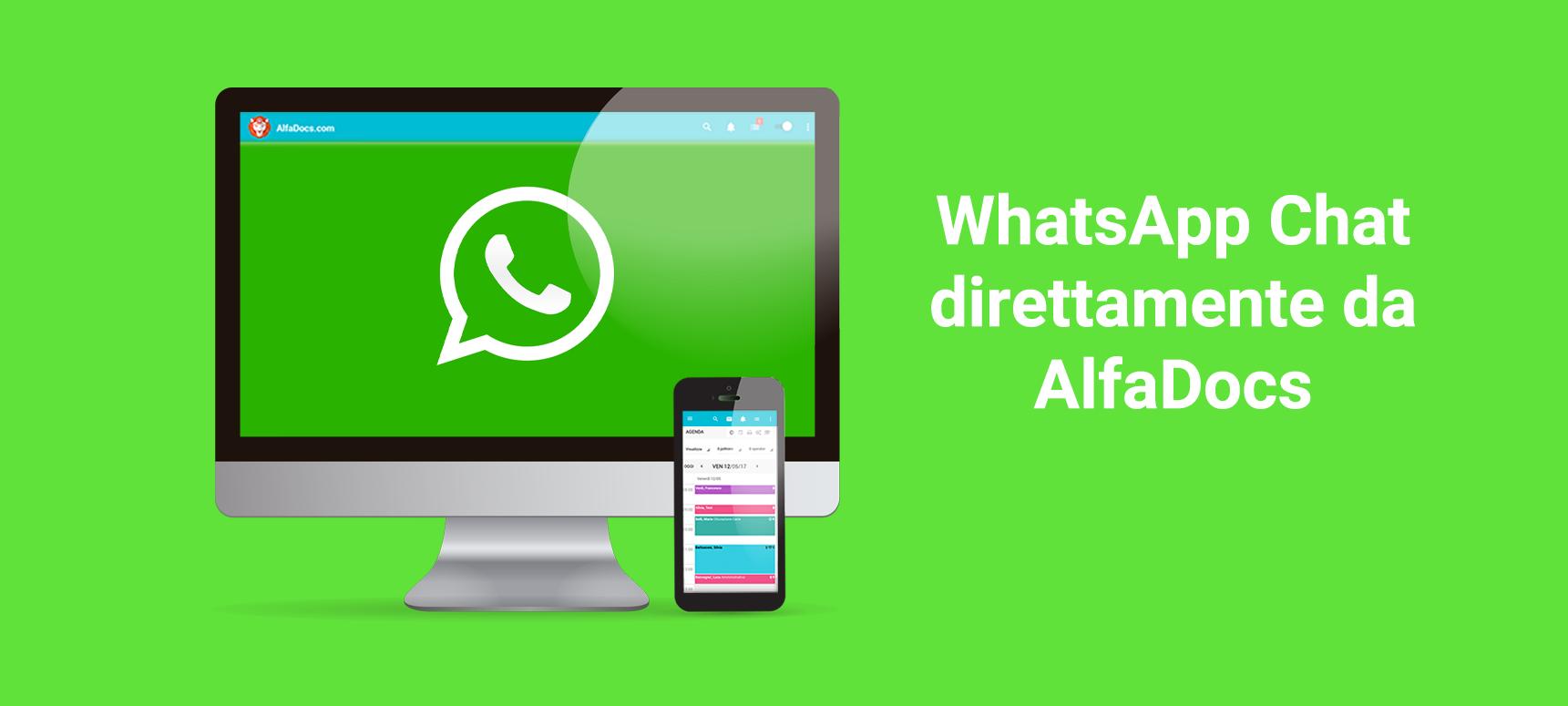 Scopri l'integrazine WhatsApp di AlfaDocs